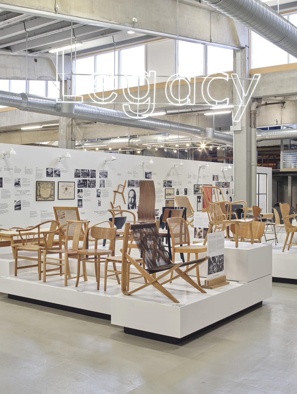 Fritz Hansen Headquarters Chairs and history