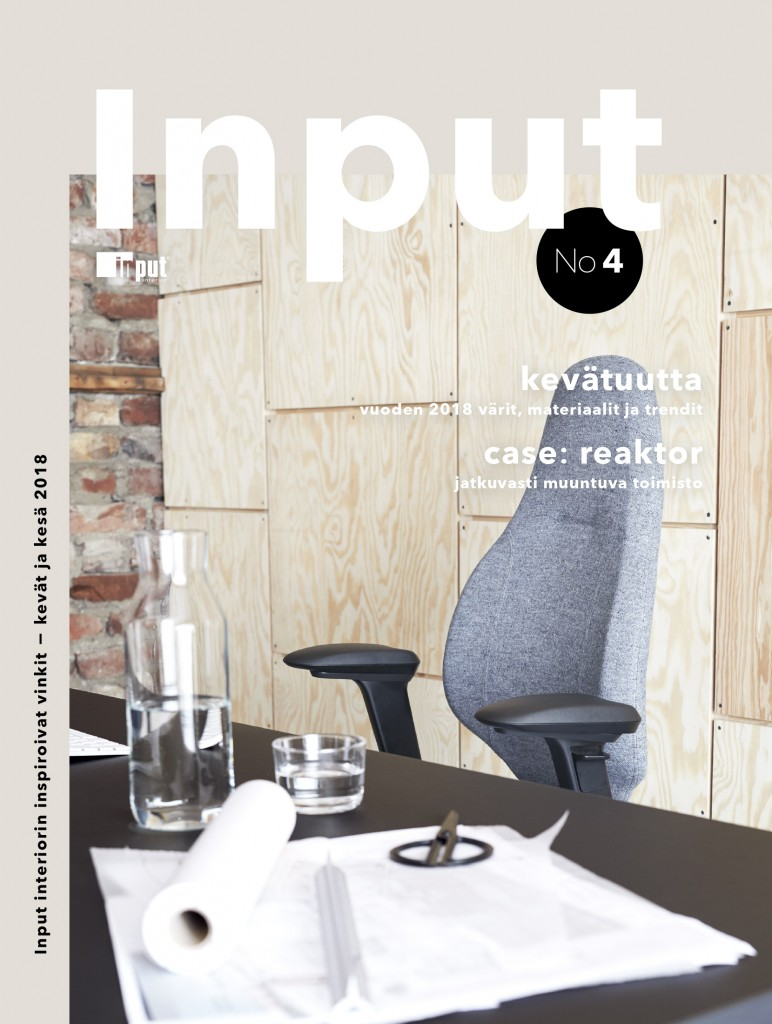 Inputmagasin #4 frontpage finnish version